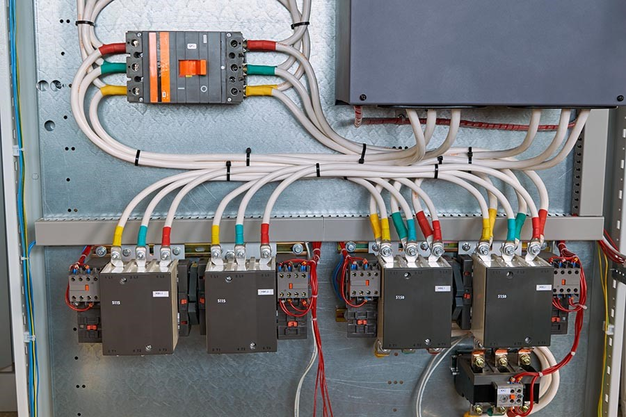 neat and organised electrical circuit